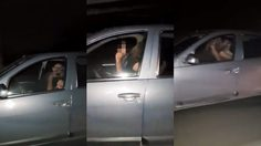 คู่รักขาซิ่ง ซั่มกันบนรถ ขณะขับด้วยความเร็ว 70 ไมล์ต่อชั่วโมง