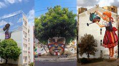 ศิลปะข้างถนน และธรรมชาติ เมื่อสองอย่างนี้มารวมกันผลงานสุดบรรเจิดจึงเกิดขึ้น