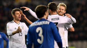 ผลบอล : อินทรีเหล็ก ยังเฉียบขาด!! เยอรมัน บุกถล่ม อาเซอร์ไบจาน 4-1 คัดบอลโลก กลุ่มC