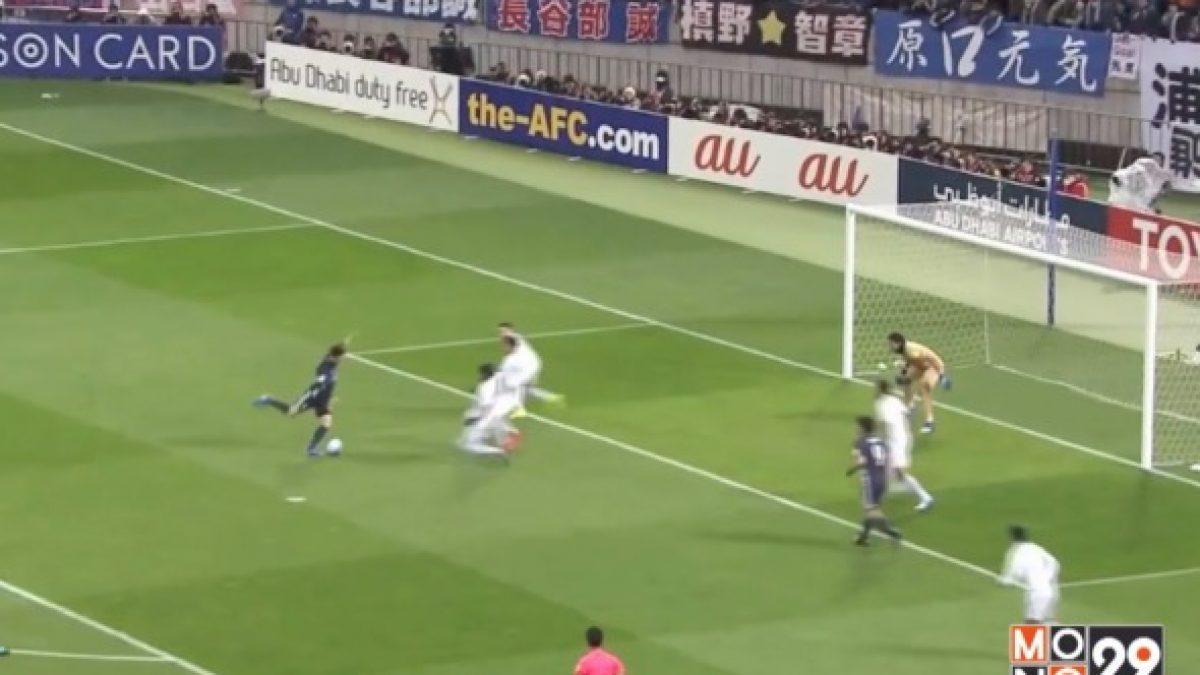 """""""ช้างศึก"""" พ่ายญี่ปุ่น 0-4 ตกรอบคัดเลือกฟุตบอลโลก"""