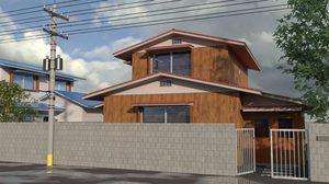 เจาะ แบบบ้านโนบิตะ บ้านเดี่ยวสองชั้นสไตล์ญี่ปุ่นดั้งเดิม
