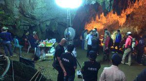 คืบการช่วยเหลือ 13 ชีวิตติดถ้ำหลวง หน่วยซีลยังดำน้ำเข้าไปในถ้ำไม่ได้