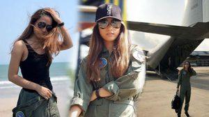 ว่าที่นักบินหญิง เพลง ชนม์ทิดา ลงเรียนการบิน ลุยฝึกภาคสนาม!!