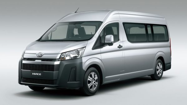 Toyota Hiace Commuter (Long/High Roof)