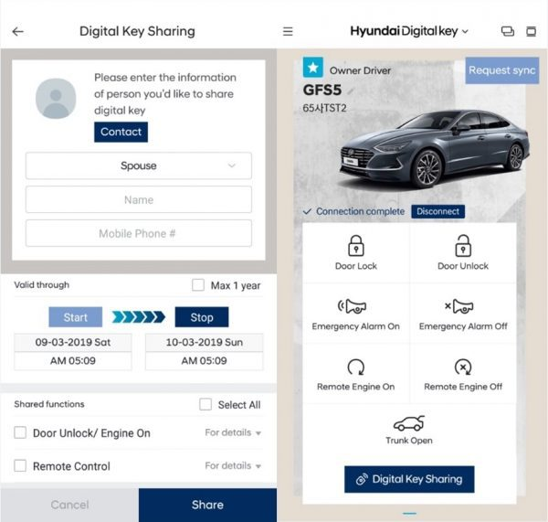 Digital Key Hyundai