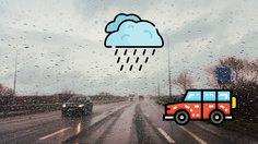 วิธีการรับมือการขับขี่ในหน้าฝน