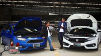 Civic 1.5 RS Turbo VS Focus 1.5 Ecoboost ตอนที่ 2