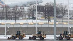พายุหิมะถล่ม นิวยอร์ค-นิวเจอร์ซี่ ยกเลิกเที่ยวบินกว่า 6,500 เที่ยว