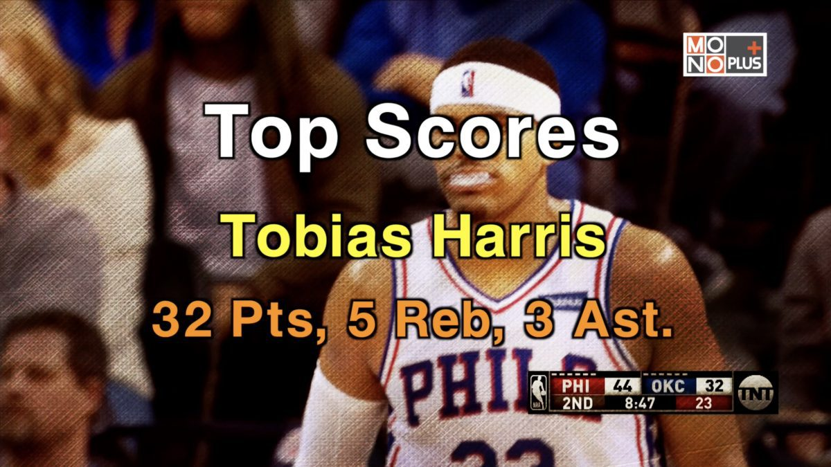 HIGH SCORE Tobias Harris 32 PTS 5 REB 3 AST