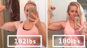 น้ำหนักก็แค่ตัวเลข!! ใครจะเชื่อ 'ลดน้ำหนัก' ไปแค่ 1 กิโลกรัม แต่หุ่นเปลี่ยนไปขนาดนี้