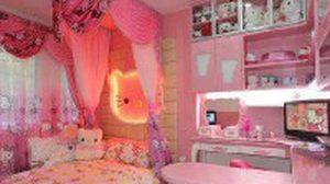 ห้องนอนคิตตี้ ไอเดียแต่งห้องนอนหวานๆ