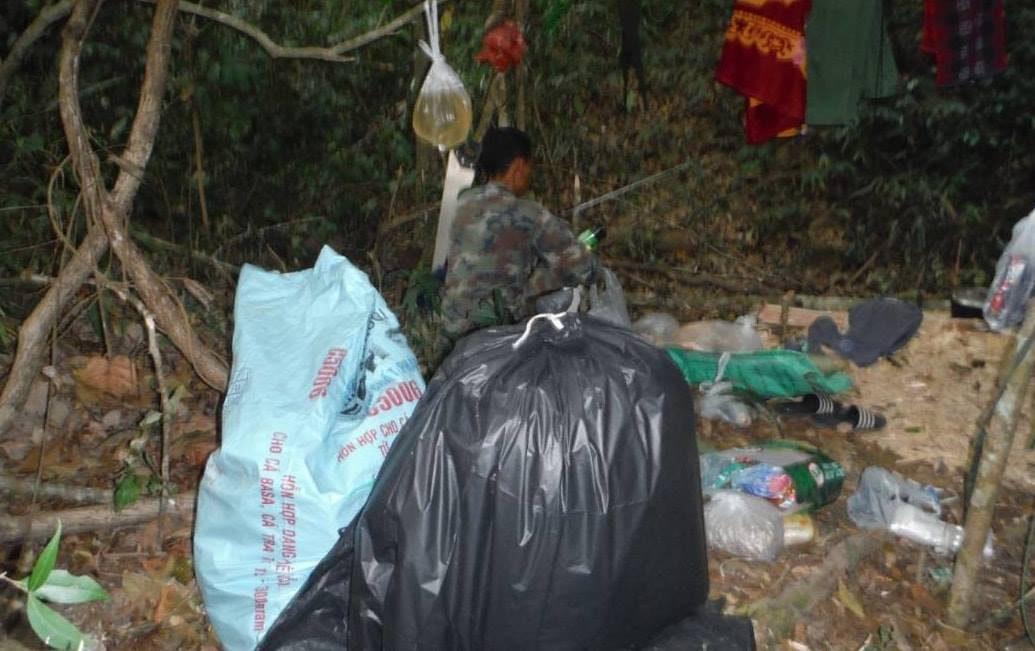 พบชาวเวียดนามลอบตัดไม้กฤษณา ยิงปืนใส่ จนท. ก่อนมีคนไทยช่วยหลบหนี