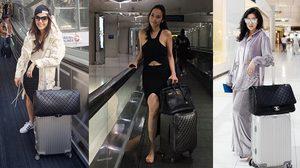 ตามส่อง แฟชั่นดารา ใส่ชุดอะไรขึ้นเครื่องบิน กันบ้างนะ ?