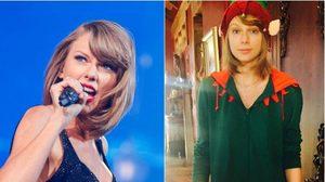 Taylor Swift โชว์หน้าสดรับคริสต์มาส! ใสๆ ไฉไลเฟ่อร์!