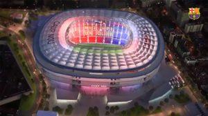 อลังการงานสร้าง! บาร์เซโลน่า กางแผนขยาย คัมป์ นู เป็น 105,000 ที่นั่งในปี 2022