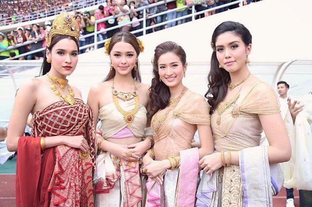 Thai period costume