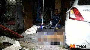 คนร้ายยิงถล่มหนุ่มวัย 32 ปี ตายคาบ้าน คาดขัดแข้งธุรกิจมืด