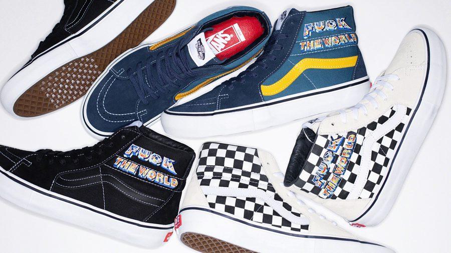 Supreme x Vans Fall&Winter 2019 รองเท้าสเก็ตสุดคลาสสิค ตกแต่งด้วยงานปักสะดุดตา