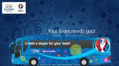 24 สโลแกนปลุกใจบนรถบัสของ 24ทีม ในยูโร2016