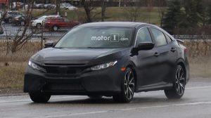 หลุด Honda Civic Si Sedan Spyshot ออกวิ่งทดสอบที่โอไฮโอ
