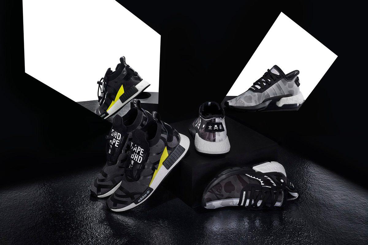 BAPE x NEIGHBORHOOD x adidas Originals