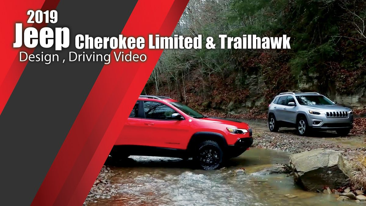 2019 Jeep Cherokee Limited & Trailhawk - Design , Driving Video