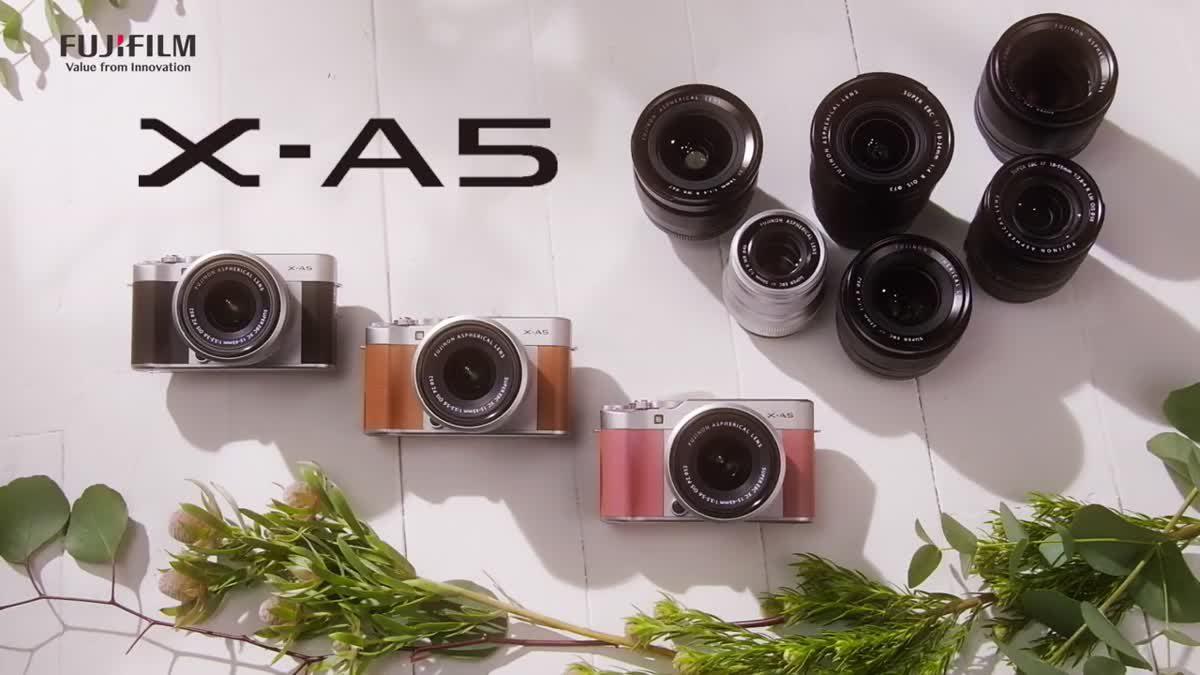 Fujifilm X-A5 กล้องมิเรอร์เลสมาพร้อมเลนส์ใหม่ล่าสุด XC 15-45 mm