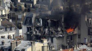 ระทึก! เกิดเหตุระเบิดใจกลางกรุงปารีส คาดสาเหตุแก๊สรั่ว