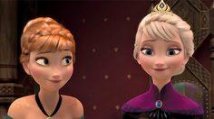 เจ้าหญิงอันนา และ เจ้าหญิงเอลซา จากหนัง Frozen 2 ยืนเคียงข้างกันในภาพหลุดแรก