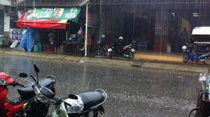 เตือน ! 6 จังหวัด ภาคตะวันออก-ภาคใต้ มีฝนตกหนักบางพื้นที่