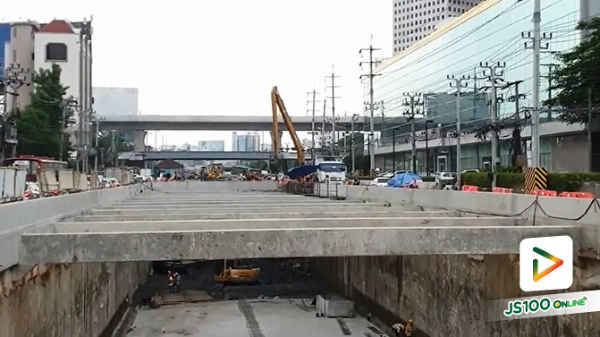 โครงการรถไฟฟ้าสายสีเขียว ช่วงหมอชิต-สะพานใหม่-คูคต (update 25 ก.ย.2561)