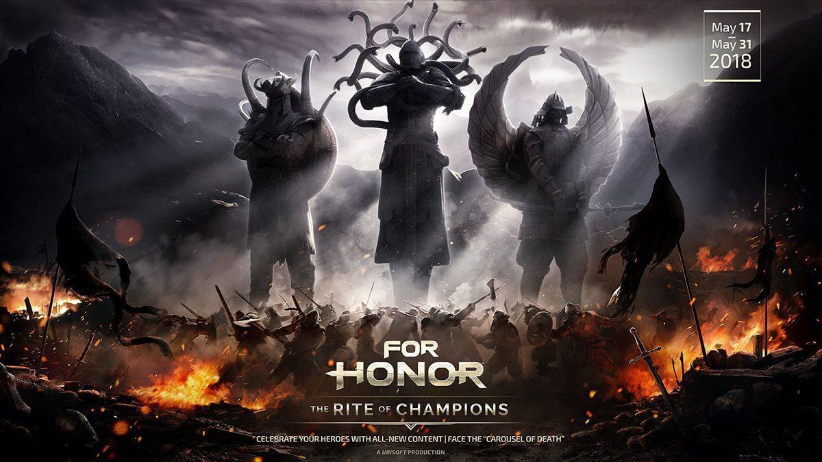 """[ตัวอย่างเกม] For Honor SS.6 อีเวนต์พิเศษประจำฤดูกาล """"The Rite of Champions"""""""