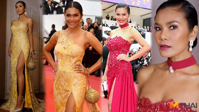 เธอคือนักแสดงไทย ที่ได้เชิญร่วม พรมแดงคานส์ 2019 อ้อม-สุกัญญา โปรจัก