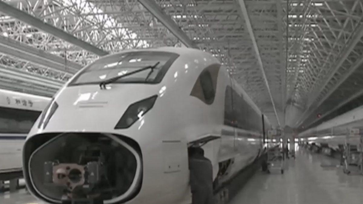 จีนใช้เวลา 5 ปี พัฒนารถไฟความเร็วสูง