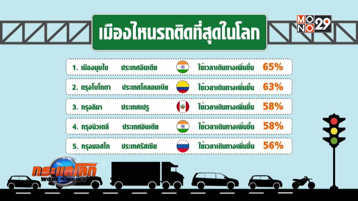 เมืองไหนรถติดมากที่สุดในโลก