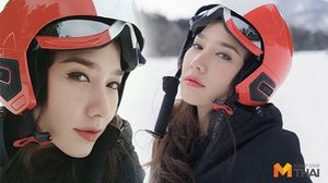 สวยหิมะอาย!! อั้ม พัชราภา เอาความฮอตไปร่อนเมืองยุ่น (คลิป)