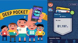 DeepPocket ได้สนับสนุน 1.1 ล้านดอลล่าร์กว่า App ธุรกรรมการเงินคนไทย