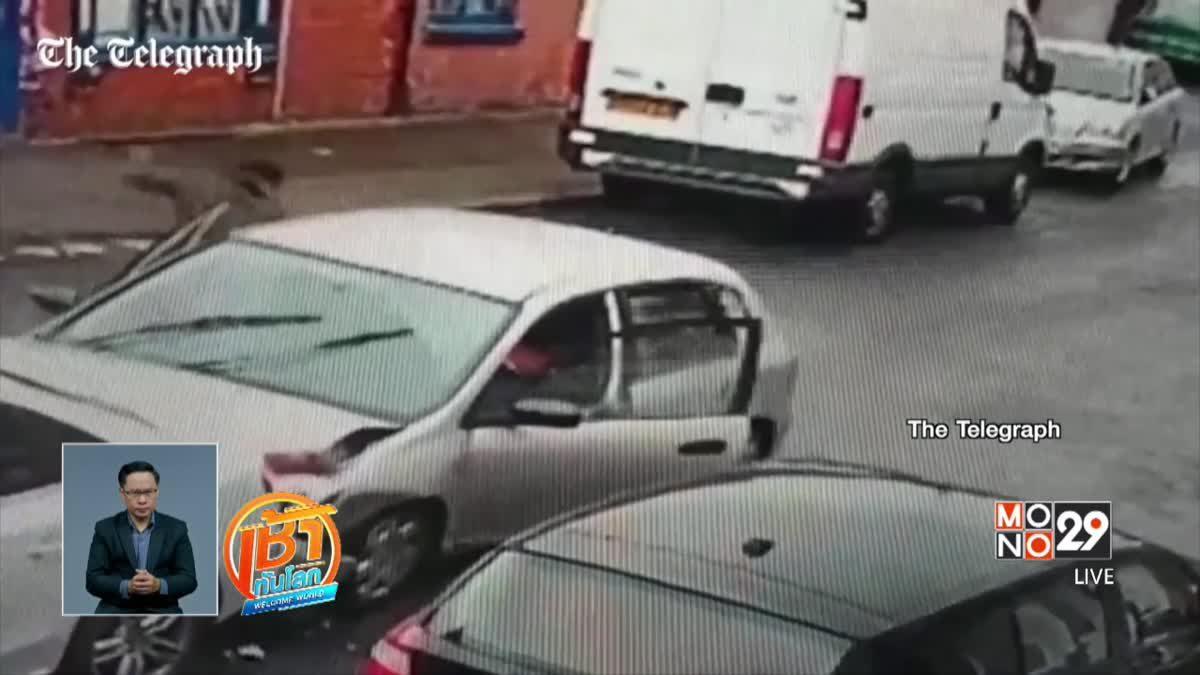 อุบัติเหตุรถยนต์ในอังกฤษ