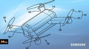 สิทธิบัตรในอเมริกา เผย Samsung อาจจะมีแผนสร้างโดรนพับและสไลด์เก็บได้