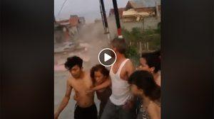คลิปแผ่นดินไหว และนาทีสึนามิพัดถล่ม ที่อินโดนีเซีย