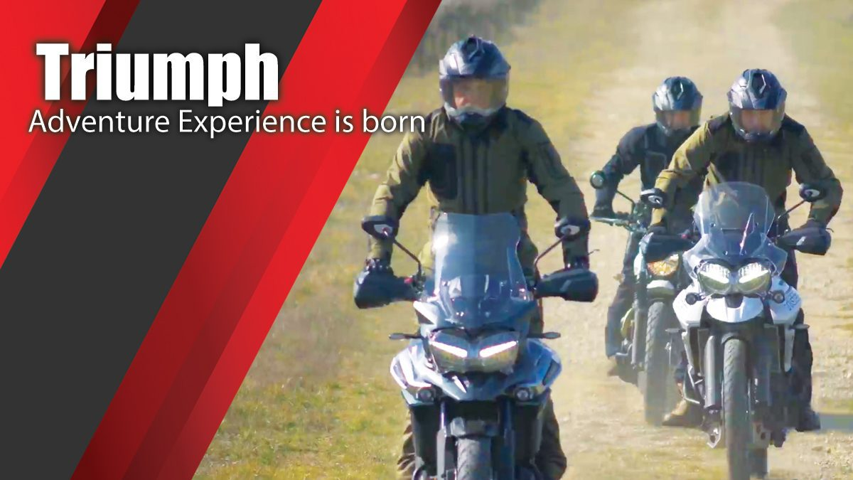 The Triumph Adventure Experience is born