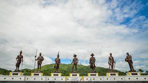 อุทยานราชภักดิ์ วีรกษัตริย์ไทย 7 พระองค์ อุทยานประวัติศาสตร์ ที่เที่ยวหัวหิน