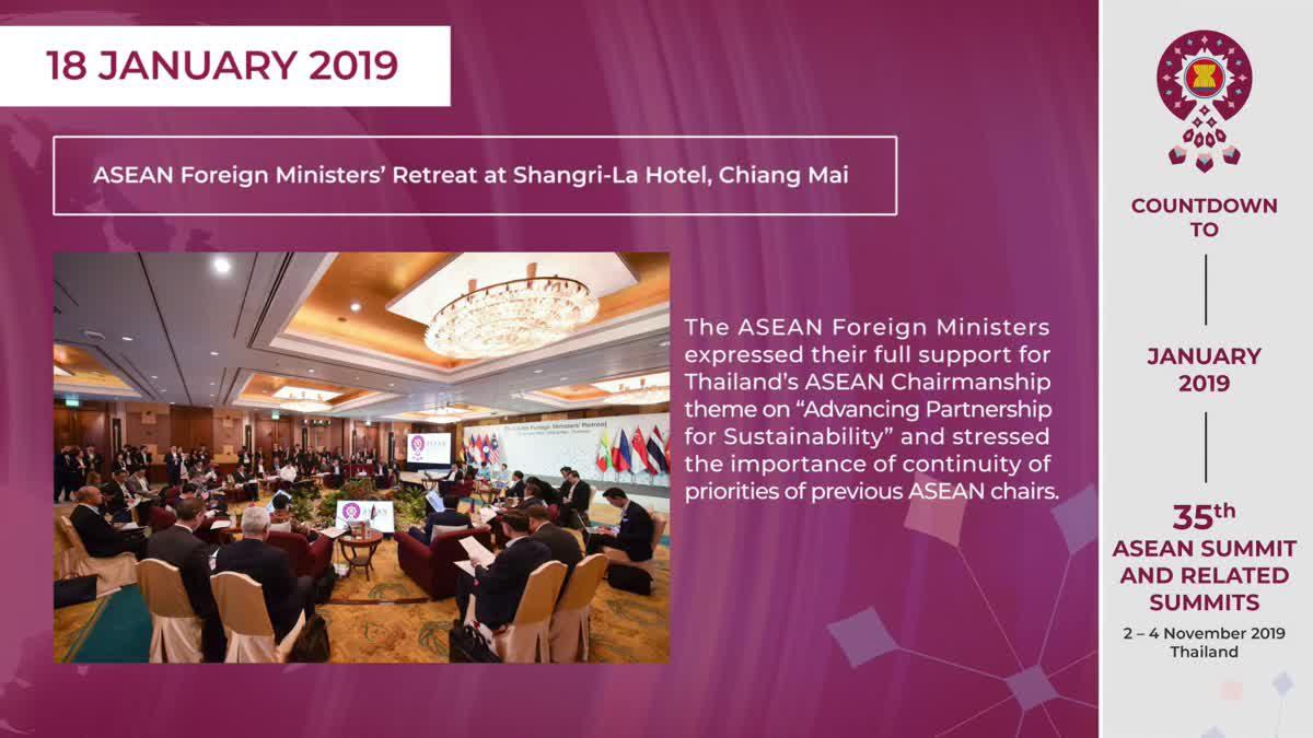 Thailand ASEAN Chairmanship Recap JAN 2019