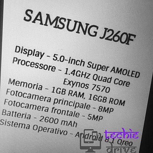 สเปคมาแล้ว! สมาร์ทโฟน Android Go รุ่นแรกจาก Samsung