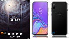 ไม่ยอมให้ตัดหน้า Samsung ชิงเปิดตัว Galaxy A8s สมาร์ทโฟนหน้าจอรู 10 ธันวาคมนี้