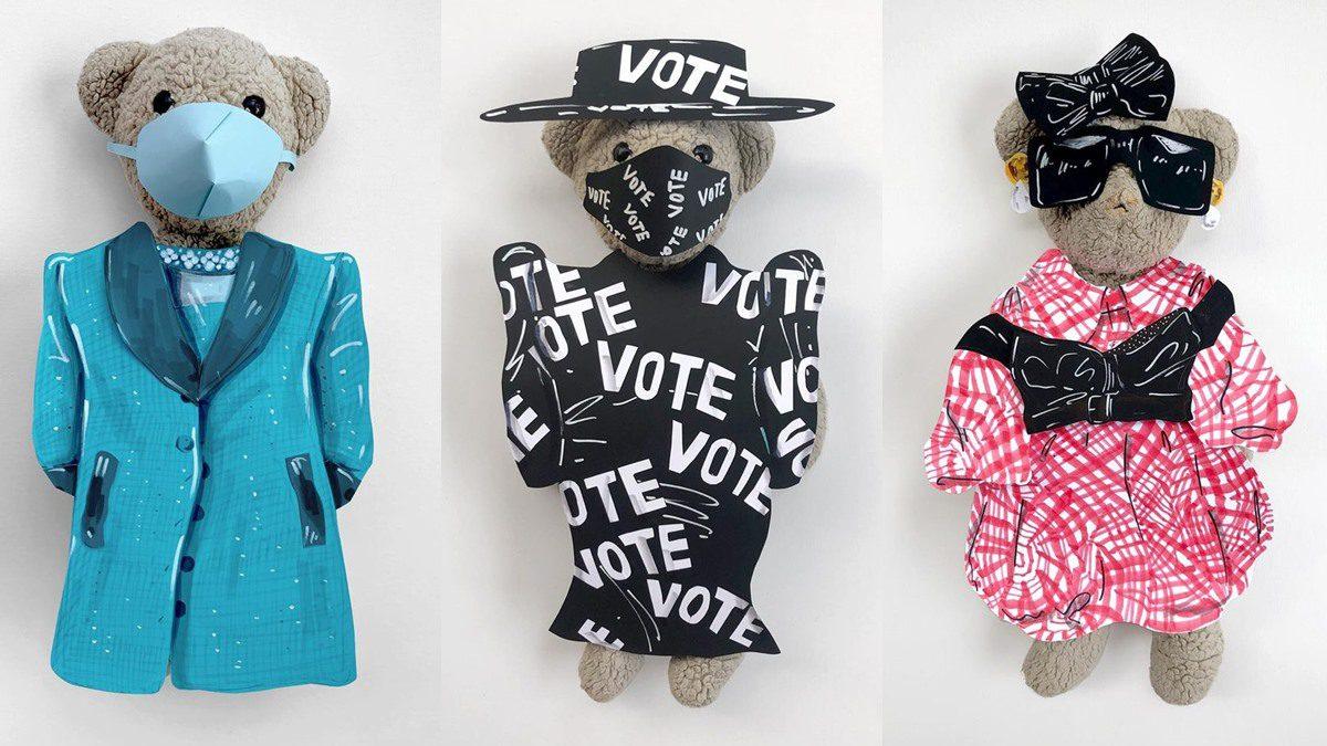 ตุ๊กตาหมีที่แต่งตัวจัดที่สุดในโลก JJ เทดดี้แบร์ หมีที่ใส่อะไรก็ได้ที่เขาต้องการ