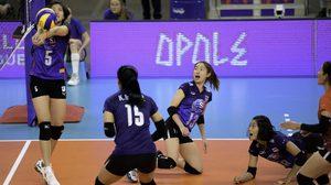 ทีมตบสาวไทย ต้านทานไม่ไหว พ่ายจีน 3 เซต ศึกวอลเลย์บอล เนชั่นส์ ลีก สนามสอง