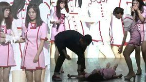 ชุลมุนทั้งงาน! เกิร์ลกรุ๊ปเกาหลีเป็นลมล้มทั้งยืน กลางเวทีคอนเสิร์ต!!