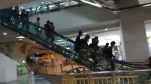 แตกตื่น!! กลุ่มชาวพม่าเกือบร้อยคนยกพวกตีกัน ในห้างดังย่านลาดพร้าว