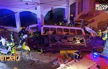 อุบัติเหตุรถรางพลิกคว่ำในโปรตุเกส